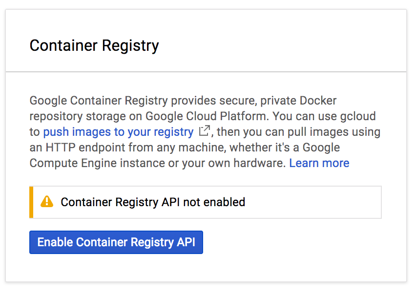 Using Google Container Registry with Kubernetes