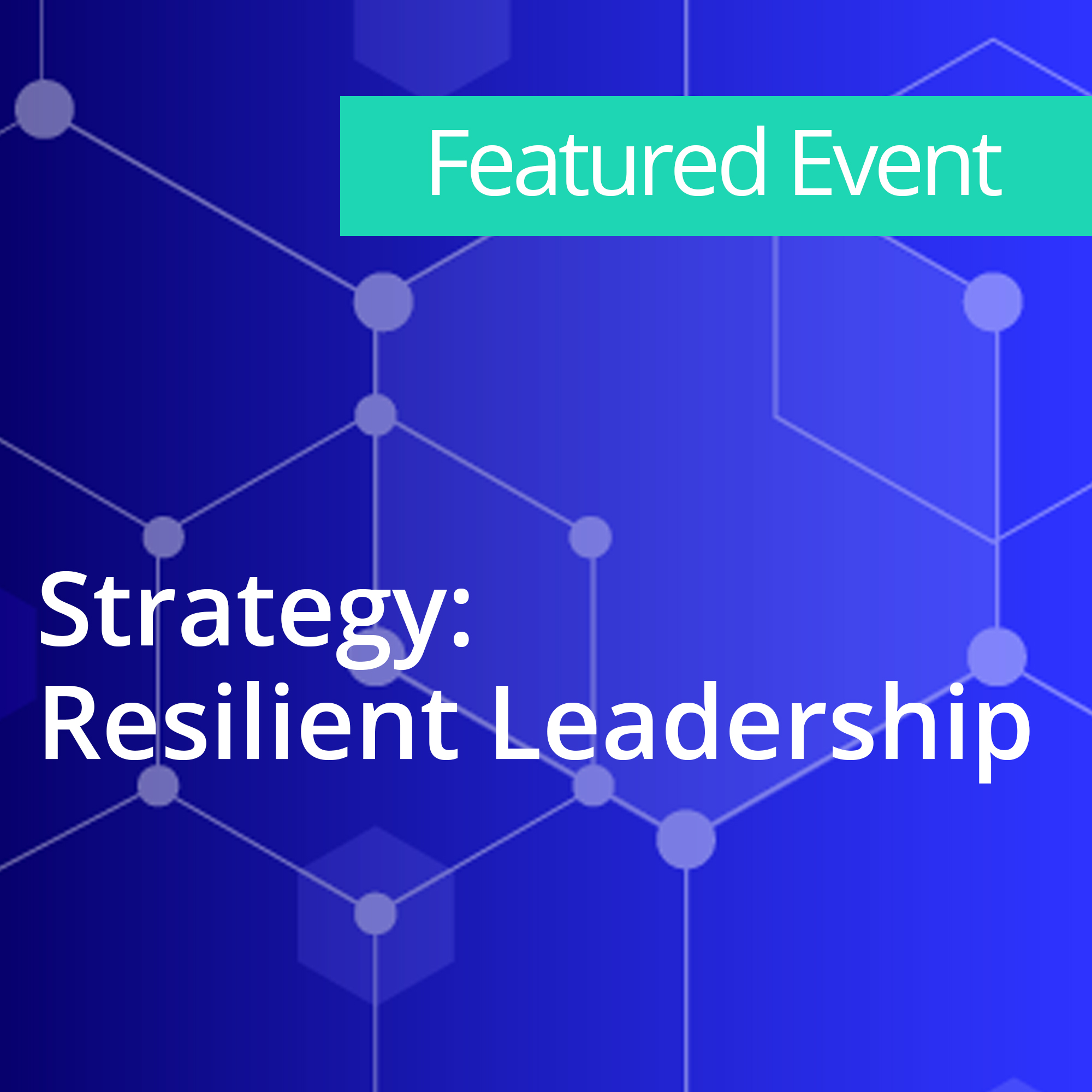 Strategy Resilient Leadership